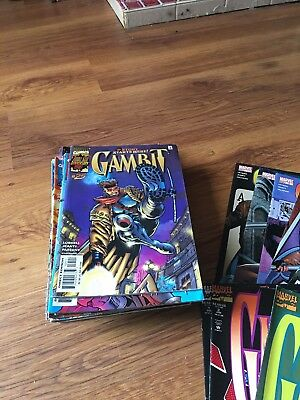 Marvel x-men Gambit Job Lot 3 Part Series Complete Runs 35 Comics
