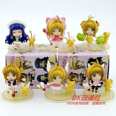 card captor sakura blink eye set of 8pcs PVC figure figures manga doll toys