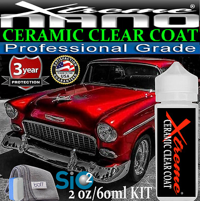 """SUPER CERAMIC CAR COATING 9H CLEAR PROTECTION  """"WET LOOK""""- 1oz/30ml  MADE IN USA"""
