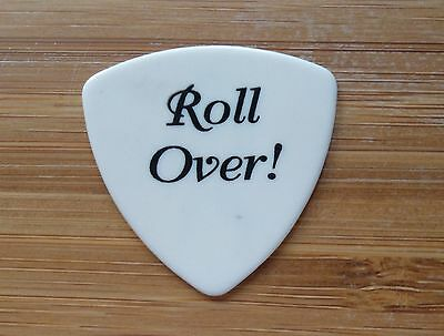 """Chuck Berry """"Roll Over"""" Guitar Pick"""