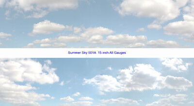 """id Backscenes – Scenic Backgrounds - Sky Papers 15"""" – Many to Choose From"""