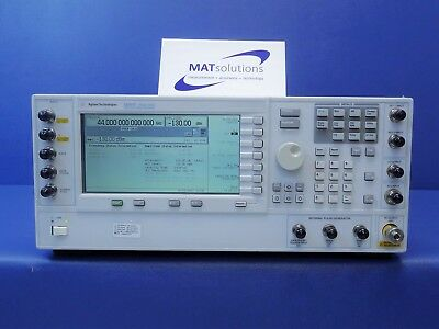 Keysight Agilent E8267D 44GHz PSG Vector Signal Generator Loaded with Options
