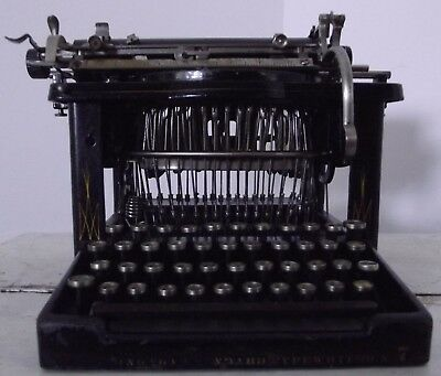 machine a écrire Remington Standard Typewriter Modele idem n° 6 number 7 XIXeme