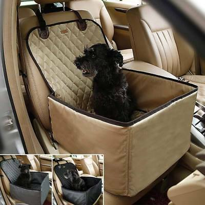 2 in 1 Pet Dog Car Rear Back Seat Waterproof Cover Safety Mat Protector Blanket
