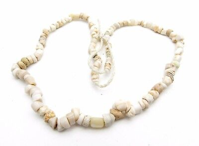Ancient Glass Beaded Necklace - Very Rare Stunning Wearable Artifact - M865