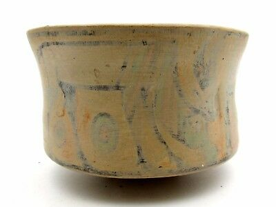 Indus Valley Terracotta Bowl W/ Deer And Lion Motif -Rare Artifact Lovely - L260
