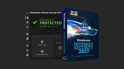 Bitdefender INTERNET SECURITY 2018,1 PC for up to 1 Year Subscription
