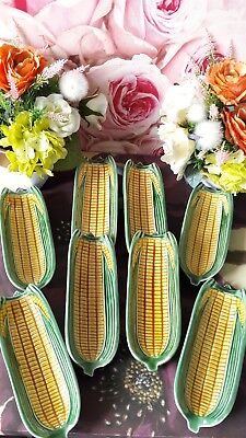 1xVintage Bordalo pinherio Corn on the Cob Serving Plate from Portugal /Piece