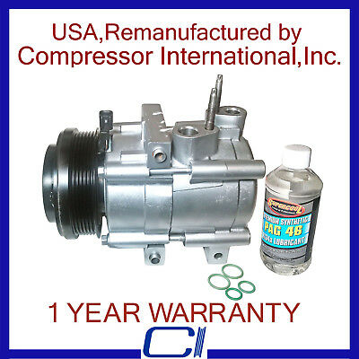 New A//C AC Compressor Kit for 2006-2011 Crown Victoria Town Car 4.6L
