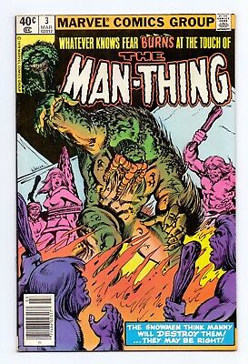 Marvel Comics: Man-Thing #3 & #4 - Both Issues!