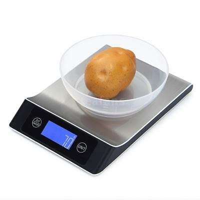 Digital Electronic LCD Kitchen Scale Food Diet Weight Touch Control 5kg/1g I3Q7
