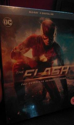 The Flash Complete 2nd season Blu-Ray NEW
