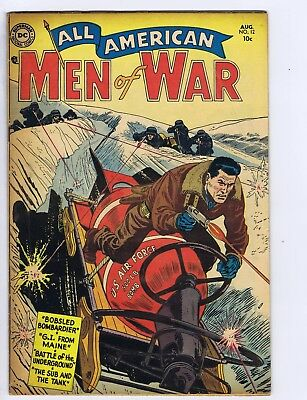 All American Men of War #12 DC 1954