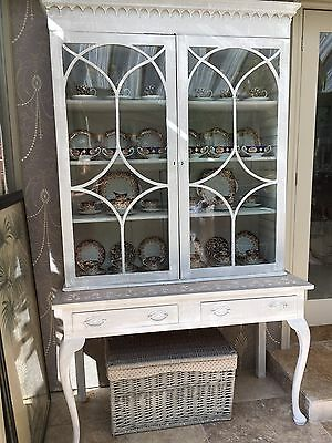 Display Cabinet Bookcase Glass Front