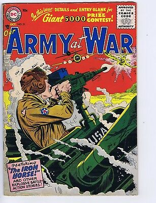 Our Army at War #51 DC 1956