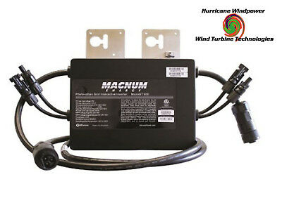 Magnum Me-Mgt500 Dual Mc4 Inputs Micro-Inverter 500W 240Vac Grid Tie Solar Power