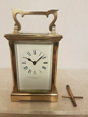 Carriage clock by A.C. Gibson