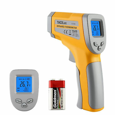 Tacklife IT-T04 Advanced Instant-Read Laser IR Infrared Thermometer -58℉~1022℉