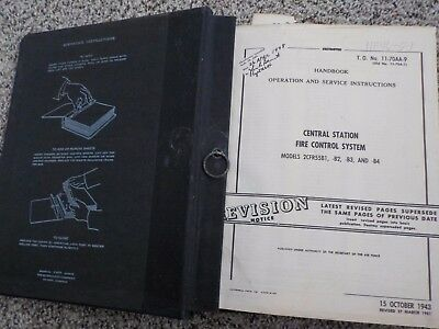 Revised Copy Central Station Fire Control System station B-29 Douglas Aircraft