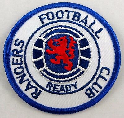 Rangers Football Club Glasgow Scotland Patch Badge Embroidered Iron On Applique