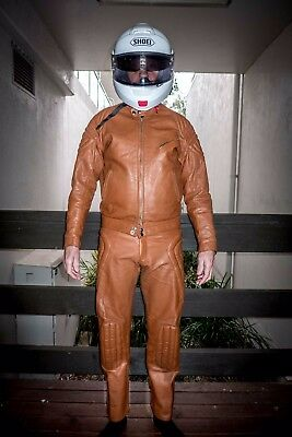 Mars Leather two-piece suit -  size '40' (like tailored suit size, not Euro).