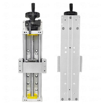 L300mm Sliding Table Cross Slide Linear Stage Manual SFU1605 CNC XYZ Axis