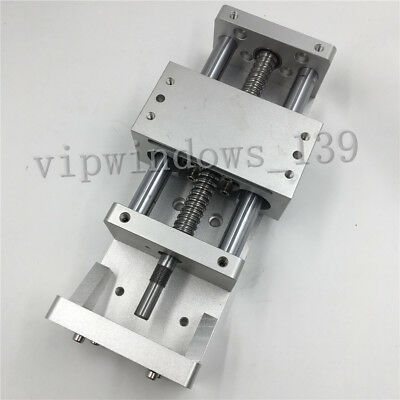 XYZ Axis Sliding Table 100mm Cross Slide Electric Linear Stage for CNC Milling