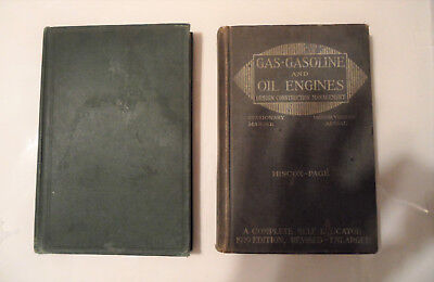 Steam Engines 1919 - Gas & Gasoline and Oil Engines 1919 2 books