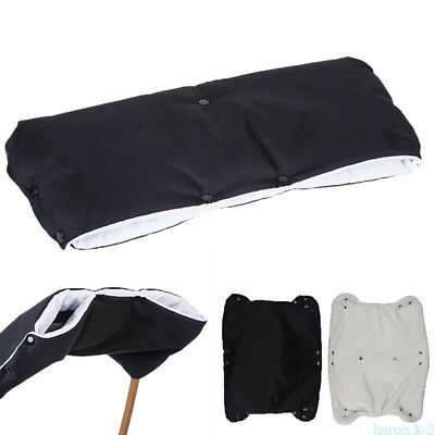 Waterproof  Pram Stroller Pushchair Hand Gloves Winter Thickened Warm Muff