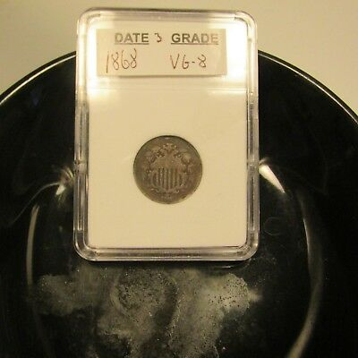 1868 Shield Nickel    #3
