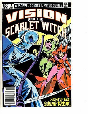 Lot Of 9 Vision & The Scarlet Witch Marvel Comic Books #1 2 3 4 + #1 2 3 4 5 GM1