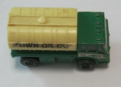 Town Oil Co truck Vintage 1988 toy vehicle Collectable Remco