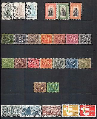 PORTUGAL - Mixed lot of 27 Stamps, most Good Used - Mint, LH