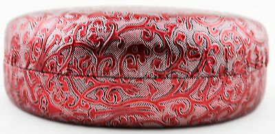 Sunglasses Floral Hard Case Women's Foil Clam Shell Reading Glasses Red New