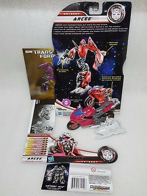 Transformers: Dark of the Moon | 'Cyberglyph' Arcee | Deluxe Class | Hasbro