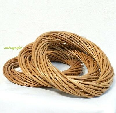 """Wicker Dream / Willow Wreath Ring Light Willow 20cm  8"""" Decoration - SALE !!!"""