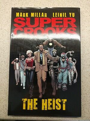 SUPER CROOKS: THE HEIST (TITAN BOOKS HARDCOVER GRAPHIC NOVEL) Mark Millar