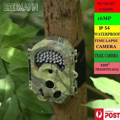 1080P HD 16MP Trail Camera Security Farm System Hunting Cam Scout Night Vision