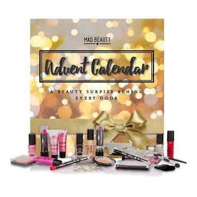 Mad Beauty Christmas Makeup Advent Calendar Gold Bright Lights