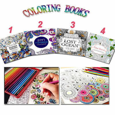 Youngs Coloring Book Books Children Adult Graffiti English  New Version