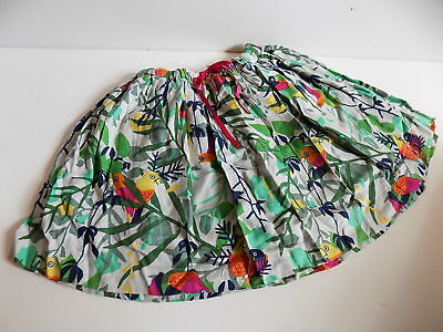 M&S girls jungle skirt size 3-4 years WORN ONCE