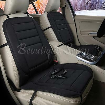 2x Best Car Heated Seat Cushion Cover Auto12V Heating Heater Warmer Pad Winter