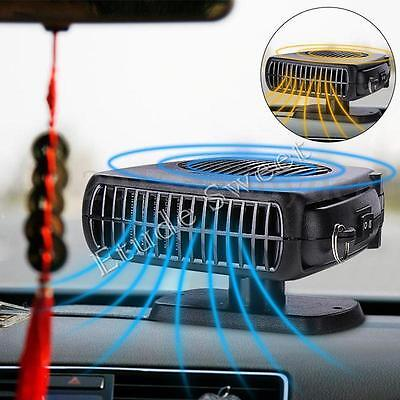 12V 150W Ceramic Car Fan Heater Defroster Portable Demister Deicer Van