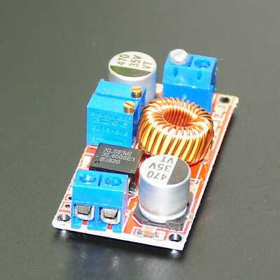 5A Adjustable DC DC CC CV Lithium Battery Step Down Charger Board LED Driver
