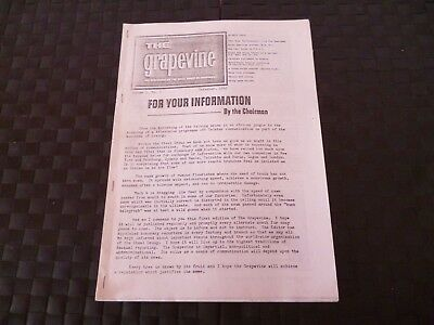 The Grapevine Newspaper Of Steel Group Of Companies Cranes December 1962 *read*