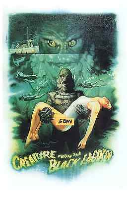 Creature Of The Black Lagoon-  Great Artwork  - Unique At Ebay- Only  $6.99