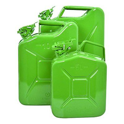Carpoint 0110009 Tanica da 20 L in Metallo, TUV/GS, Verde (c4a)