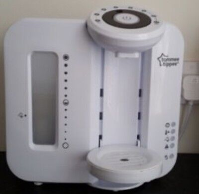Tommee Tippee Closer to Nature Perfect Prep Baby Bottle Feeding Machine White