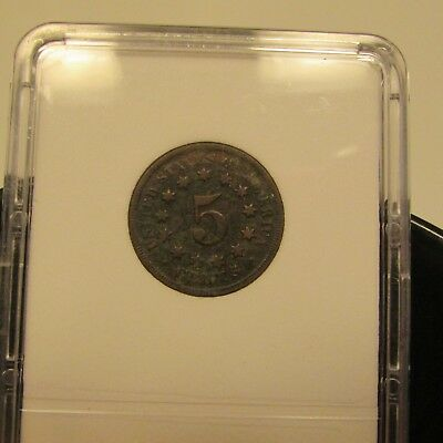 1868 Shield Nickel        #8
