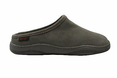 Pro11 wellbeing suede orthotic slipper with full length arch support insoles